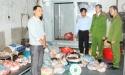 Hà Nam: Bắt giữ 750kg bì lợn không rõ nguồn gốc, đang trong quá trình phân huỷ