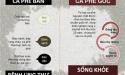 Cách phân biệt 'cà phê sạch' và 'cà phê bẩn'