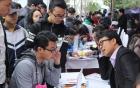 Hàng nghìn thí sinh tham dự ngày hội tư vấn tuyển sinh lớn nhất khu vực phía Bắc năm 2017