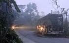 Quảng Nam: Đang chạy trên đường, xe khách bất ngờ bốc cháy