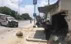 Tài xế buồn ngủ, xe cấp cứu lao vào nhà dân bên đường