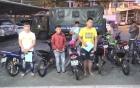 Bình Dương: Vây bắt nhóm thanh niên tụ tập đua xe trái phép