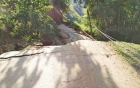 Yên Bái: Huyện Trạm Tấu bị cô lập vì sạt lở gần 50m đường