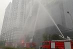 Diễn tập thành công cứu người bị mắc kẹt trên tòa nhà cao tầng