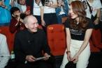 Mỹ Tâm bất ngờ khi nhạc sĩ Vũ Thành An đến xem 'Chị trợ lý của anh'