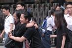 Chùm ảnh: Các thí sinh trong ngày làm thủ tục trước kỳ thi