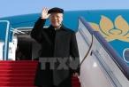 Hình ảnh lễ đón Tổng Bí thư Nguyễn Phú Trọng ở sân bay Bắc Kinh