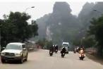 Ninh Bình: Cận cảnh clip ghi lại hình ảnh CSGT truy đuổi 'quái xế' gây náo loạn đường vào Tràng An