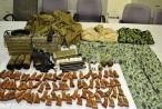 Phát hiện du khách vận chuyển số lượng lớn trang thiết bị quân sự lên máy bay