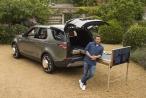 Khi Land Rover 'bị' biến thành căn bếp di động