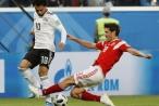 Ngủ dậy sau hiệp một, Nga vùng lên vùi dập Ai Cập do Mo Salah dẫn dắt