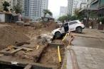 Quận Cầu Giấy: Bẫy 'tử thần' rình rập người qua đường