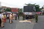 Tiền Giang: Vợ và mẹ vợ cán bộ công an tử vong dưới gầm xe tải