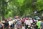 Hà Nội: 'Biển người' ở Công viên Thủ Lệ