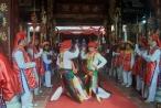 Lễ hội nổi tiếng với điệu múa 'Con đĩ đánh bồng' được công nhận là Di sản văn hóa phi vật thể cấp quốc gia