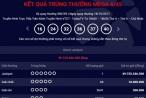 Kết quả xổ số Vietlott ngày 18/10: Đã có chủ nhân giải Jackpot hơn 49 tỷ đồng