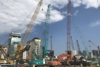 """Dự án metro số 1 TPHCM: Tiền chậm thanh toán, nhà thầu """"khóc"""""""