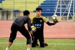 Bùi Tiến Dũng và Văn Lâm tranh suất bắt chính ở đội tuyển Việt Nam