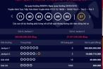 Kết quả xổ số Vietlott 20/3/2018: Hai người trúng giải Jackpot 2