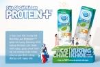 Cô gái Hà Lan ra mắt sữa tiệt trùng có đường Protein +TM    mới
