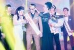 Á hậu Trịnh Kim Chi diện váy xẻ hút mắt đi chấm thi Quý ông lịch lãm