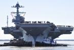 Cận cảnh tàu sân bay đắt nhất thế giới của Mỹ