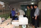 Hà Nam: Bắt quả tang gần 1,4 tấn lòng, bì lợn ngâm hóa chất