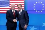 EU treo nhầm cờ Mỹ khi đón Phó Tổng thống Pence