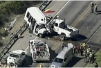 Tai nạn ô tô thảm khốc tại Mỹ, 12 người thiệt mạng