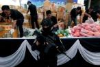 Đông Nam Á tiêu hủy ma túy trị giá 1 tỷ USD