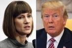 """Ông Trump """"phản pháo' khi bị tố cưỡng hôn nhân viên lễ tân"""