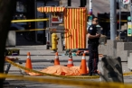 Hiện trường vụ tấn công xe tải tại Canada, ít nhất 9 người thiệt mạng