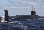 Video: Nga phóng 4 tên lửa đạn đạo từ tàu ngầm hạt nhân