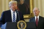 Trump tuyên bố 'không có bộ trưởng tư pháp'