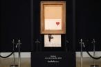 Bức tranh 1,4 triệu đô bị cắt vụn ngay sau phiên đấu giá