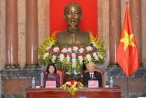Tổng Bí thư, Chủ tịch nước Nguyễn Phú Trọng gặp mặt cán bộ Văn phòng Chủ tịch nước