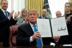 Tổng thống Trump ký sắc lệnh mới nhằm thành lập Lực lượng Vũ trụ