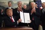 Tổng thống Trump ký sắc lệnh làm rung chuyển Trung Đông