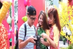 Giới trẻ Sài Gòn chen chân chụp hình trên phố ông đồ