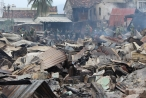 Khánh Hòa: Hoang tàn hiện trường vụ cháy hơn 70 nhà dân ở Nha Trang