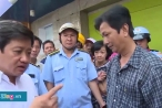 Ông Hải yêu cầu cách chức cán bộ phản ứng khi trụ sở khu phố bị đập