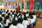 Đăk Nông: Công an tỉnh tổ chức tuyên truyền ATGT và phòng chống xâm hại tình dục trẻ em