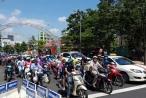 Đà Nẵng: Ách tắc cục bộ ngày thông xe hầm chui Tây cầu sông Hàn