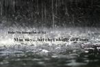 Radio Yêu thương Plus số 122: Mùa này…bất chợt những cơn mưa