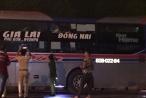 Tái diễn tình trạng ném đá xe khách trên đường Hồ Chí Minh