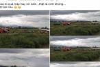 Triệu tập người tung tin đồn máy bay rơi ở sân bay Nội Bài