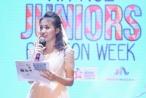 Vân Hugo xuất hiện trên sân khấu Ha Noi Junior's Fashion Week 2017