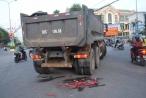 Người lẫn xe chui gầm xe tải, nam sinh Quảng Ngãi thoát chết hy hữu