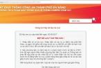 Công an Đà Nẵng lập trang tra cứu thông tin vi phạm giao thông