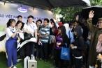 """Gian hàng độc đáo của Vinamilk thu hút nhiều sinh viên tại """"Ngày hội việc làm Bách Khoa 2017"""""""